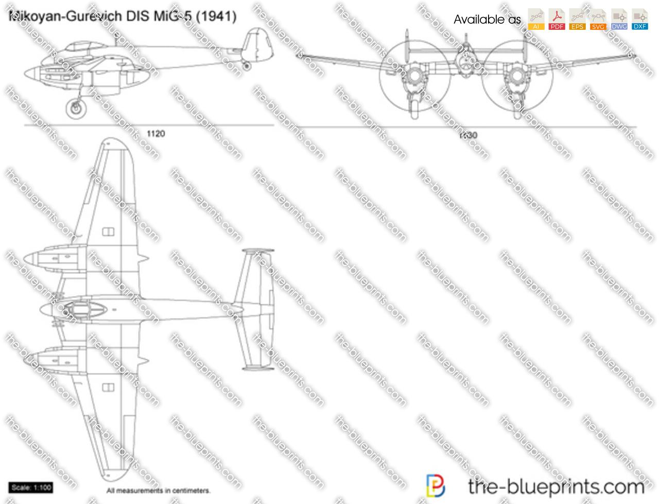 Mikoyan-Gurevich DIS MiG-5