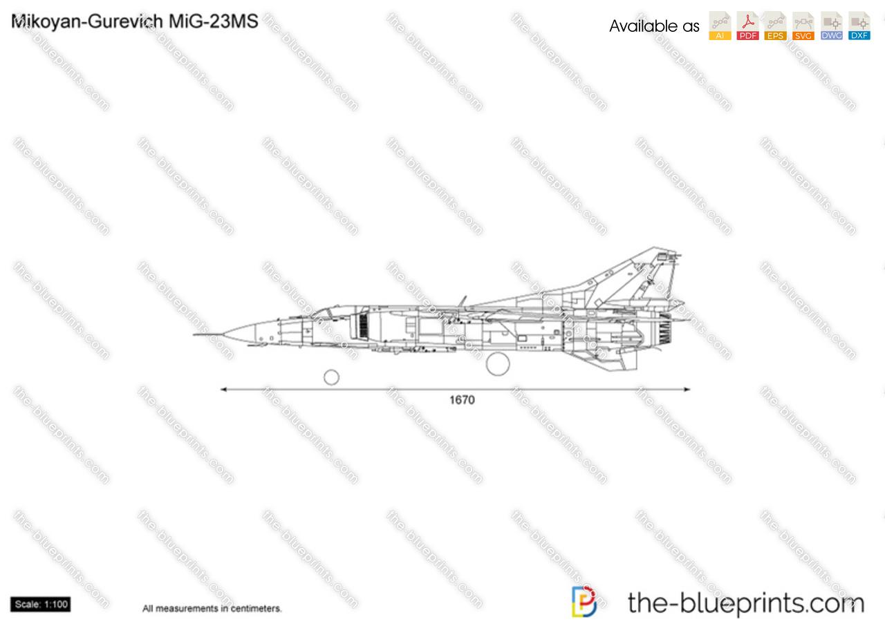 Mikoyan-Gurevich MiG-23MS Flogger