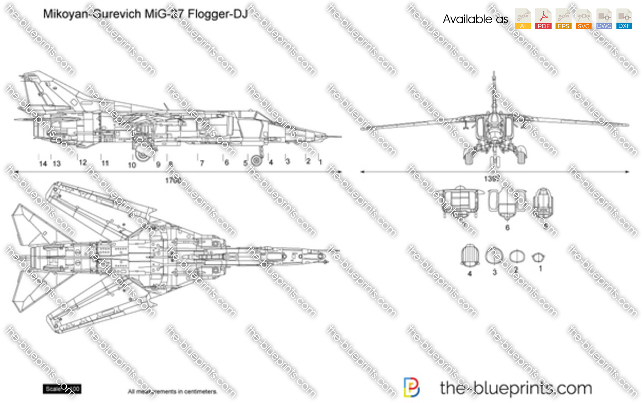 Mikoyan-Gurevich MiG-27 Flogger-DJ
