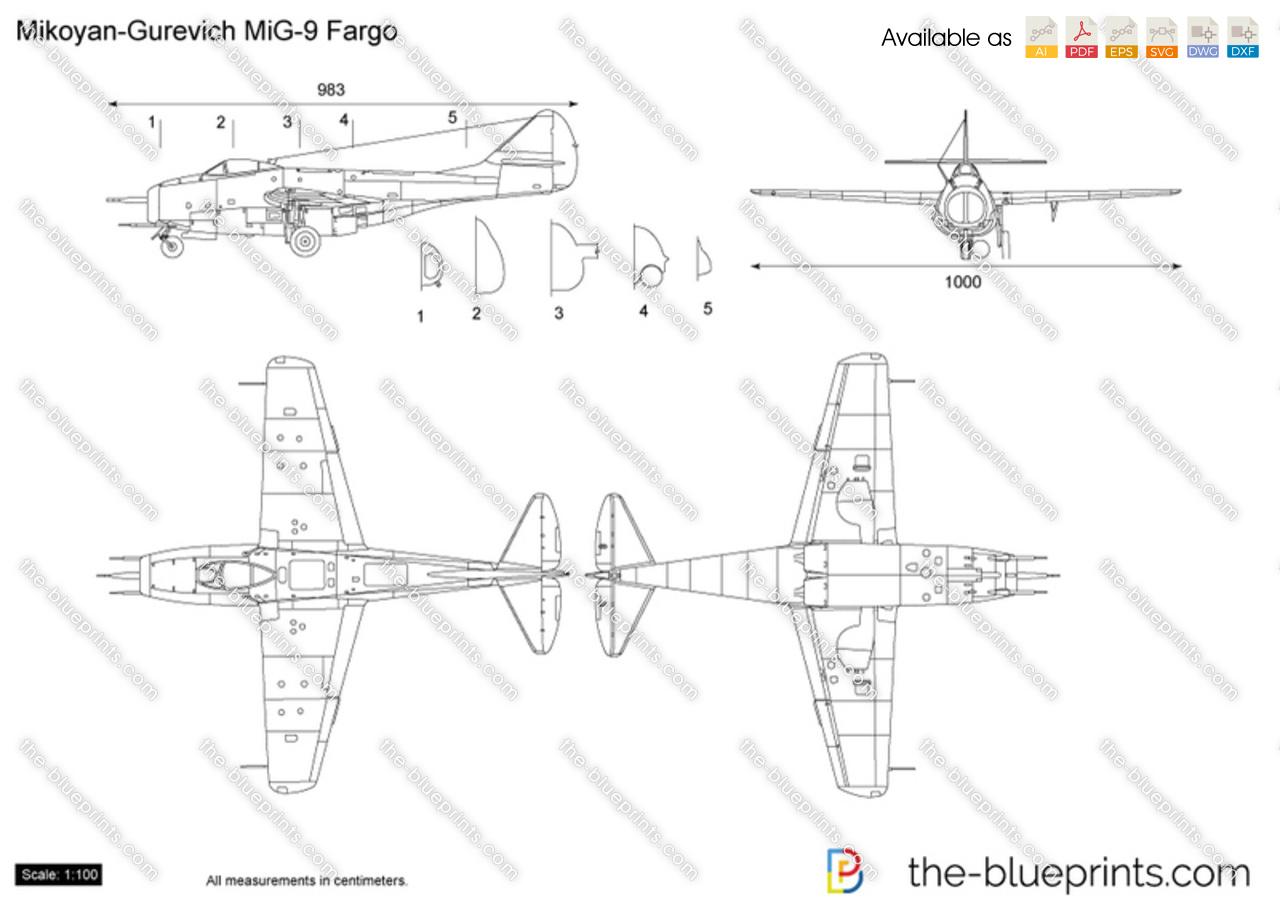 Mikoyan-Gurevich MiG-9 Fargo