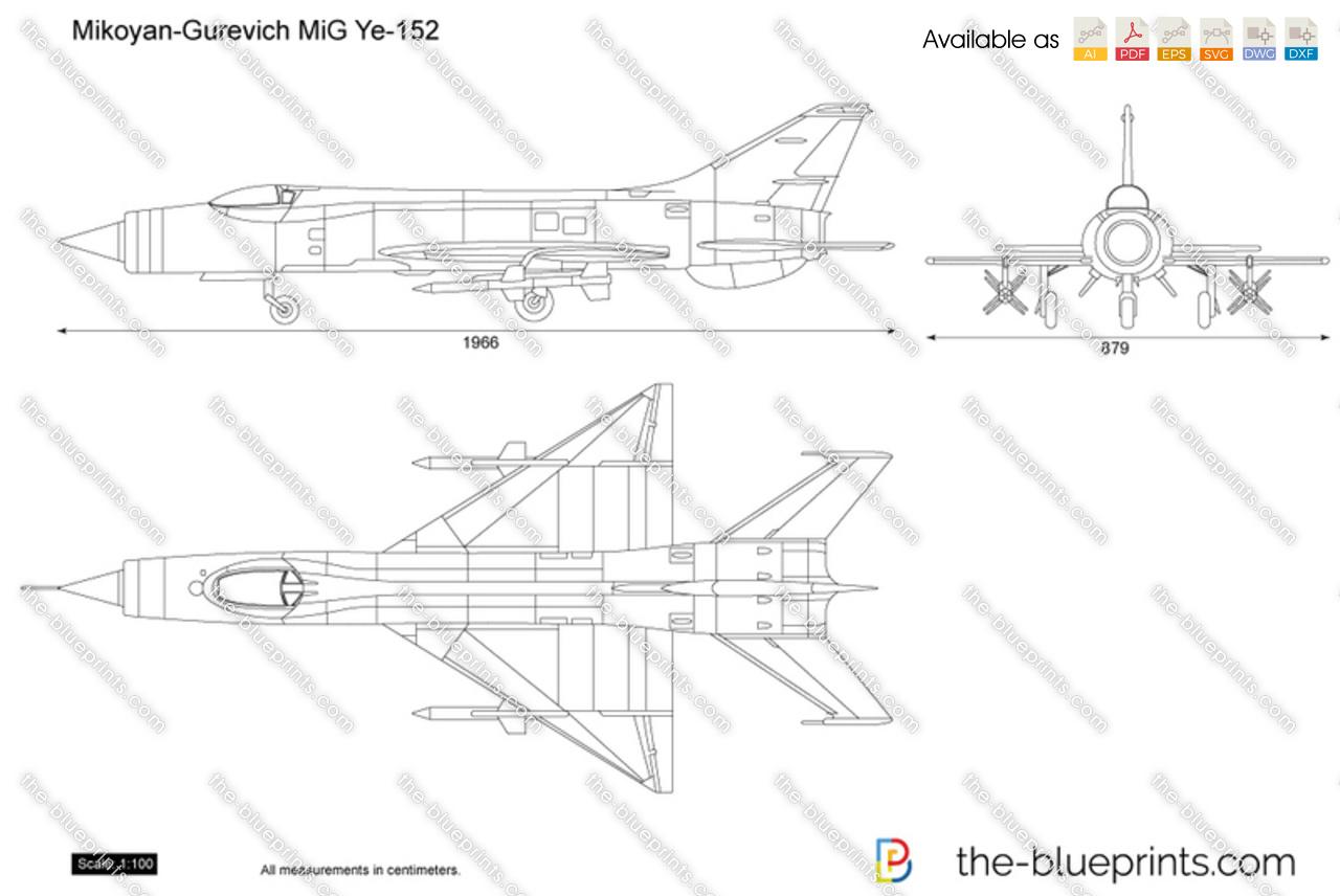 Mikoyan-Gurevich MiG Ye-152