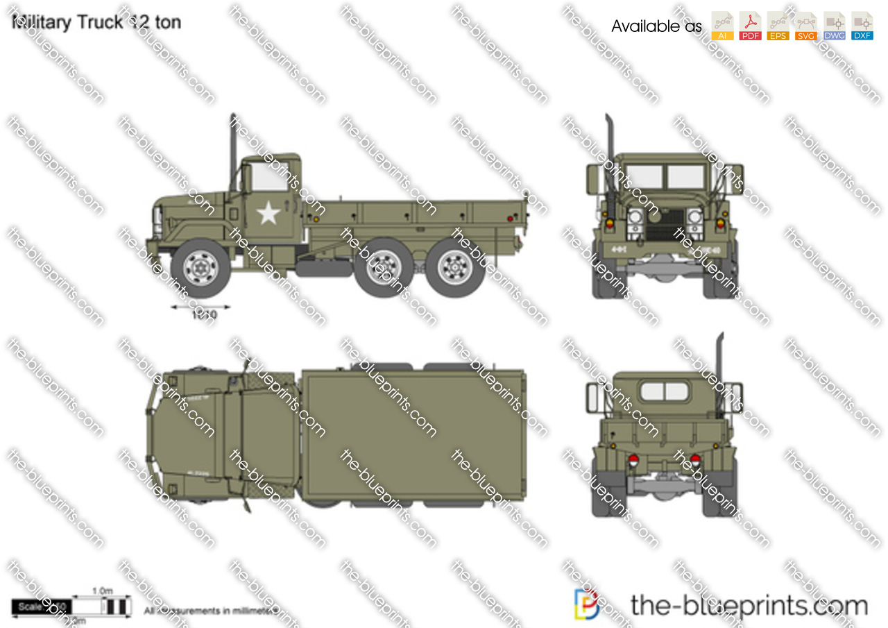Military Truck 12 ton