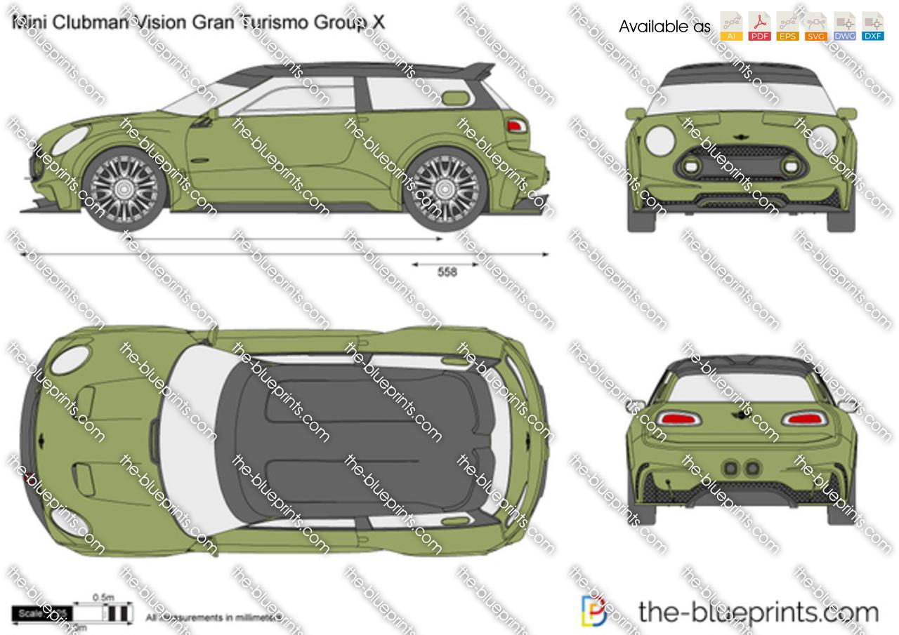 Mini Clubman Vision Gran Turismo Group X