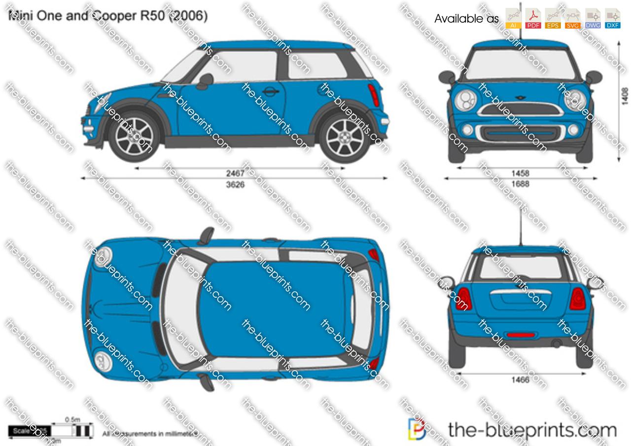 Mini One and Cooper R50 2001