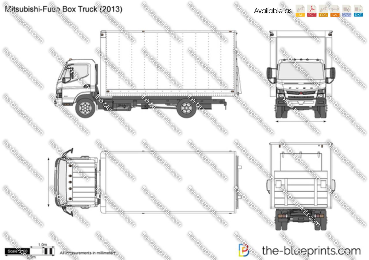 Mitsubishi-Fuso Box Truck 2017