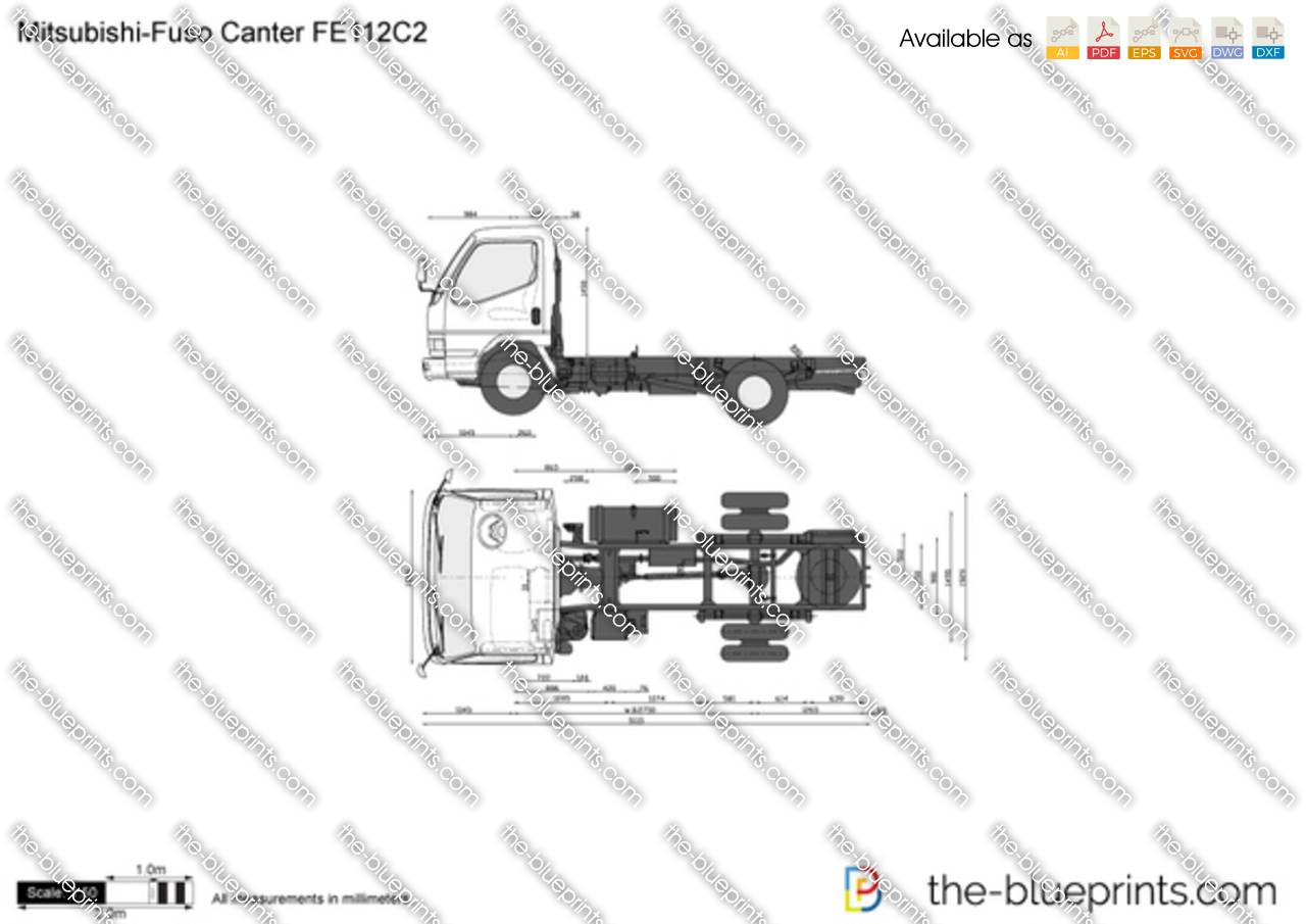 Mitsubishi-Fuso Canter FE112C2