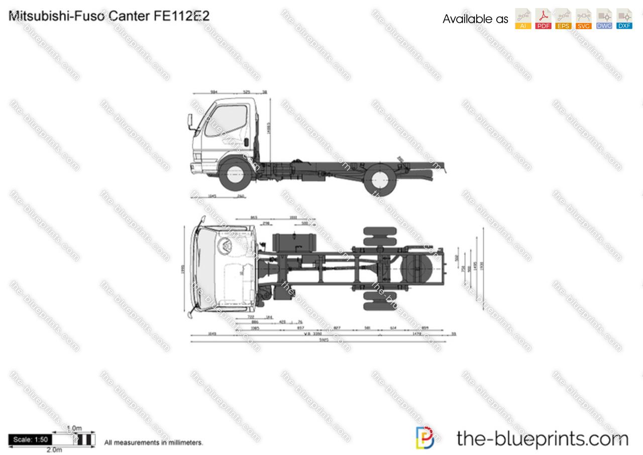 Mitsubishi-Fuso Canter FE112E2