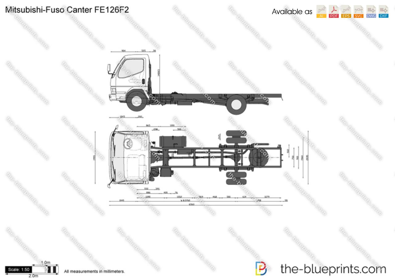 Mitsubishi-Fuso Canter FE126F2