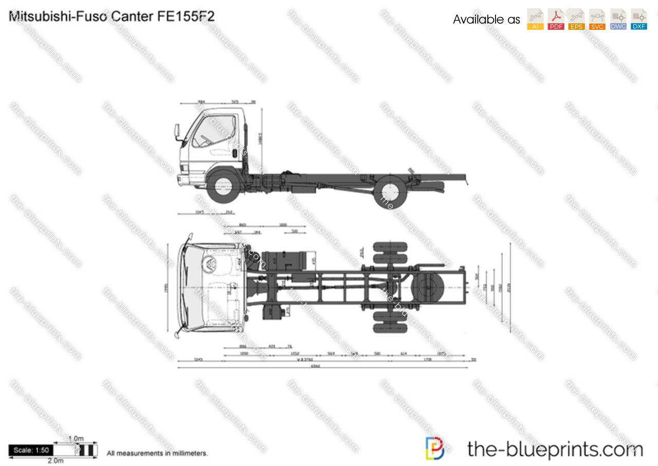 Mitsubishi-Fuso Canter FE155F2