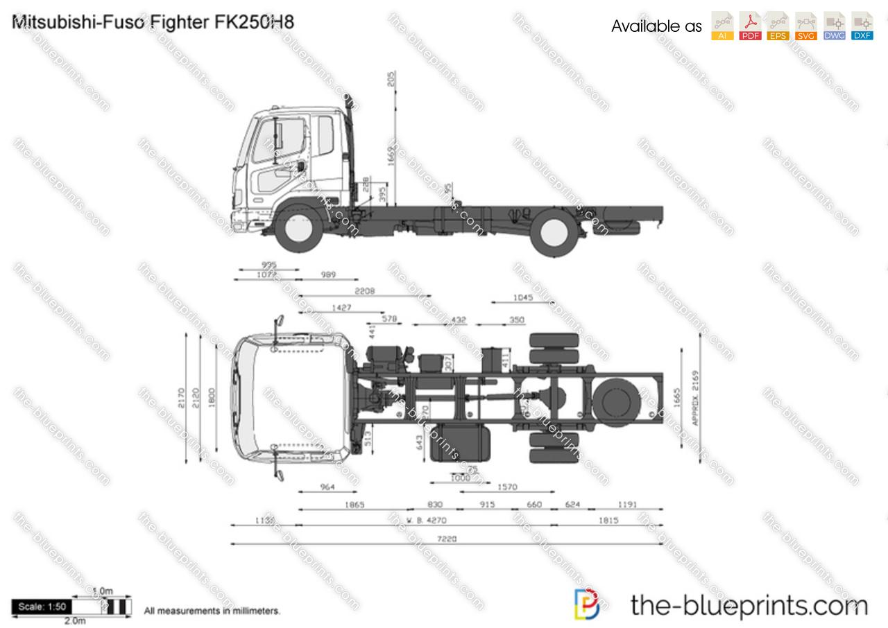 Mitsubishi-Fuso Fighter FK250H8