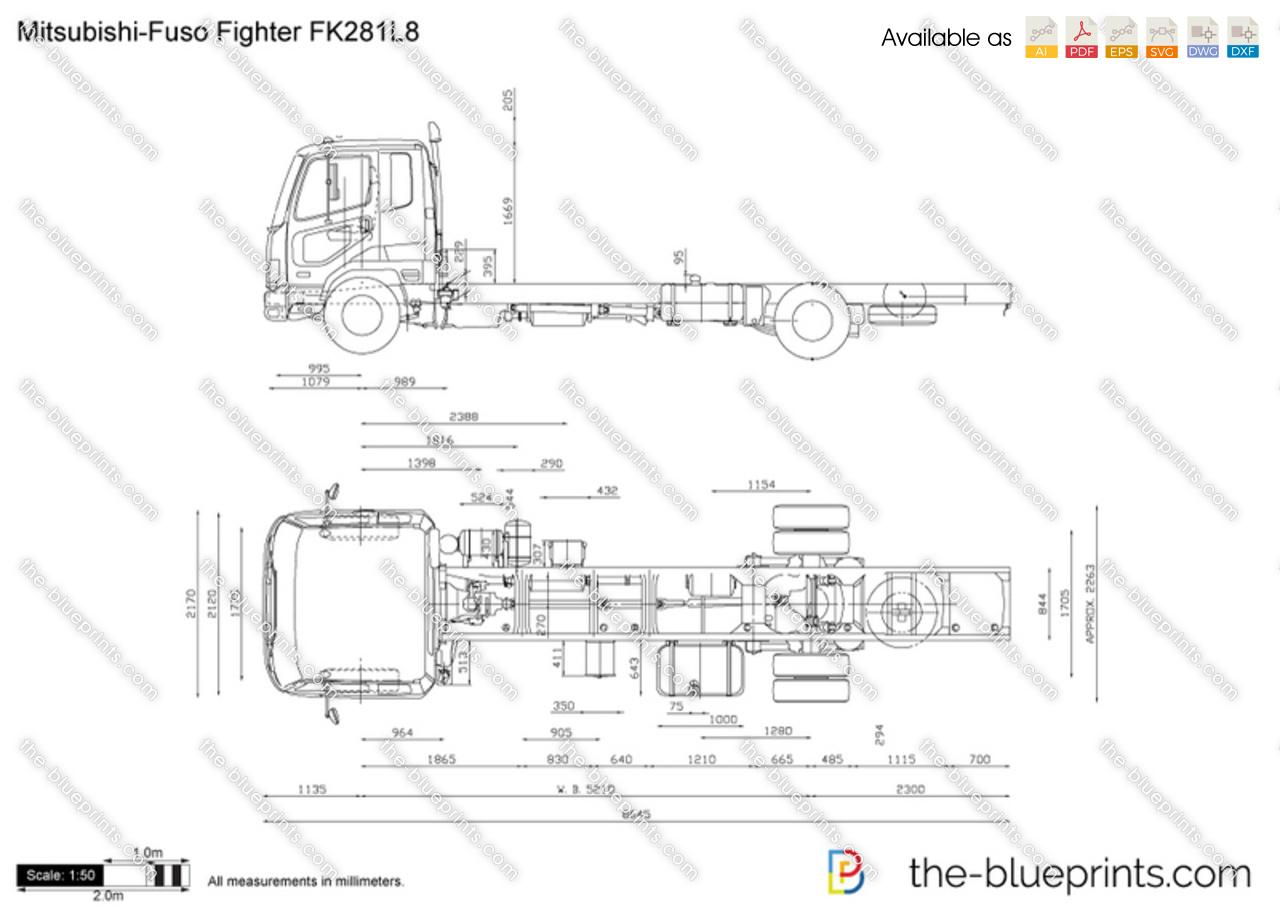Mitsubishi-Fuso Fighter FK281L8