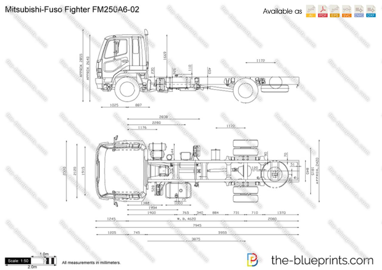 Mitsubishi-Fuso Fighter FM250A6-02