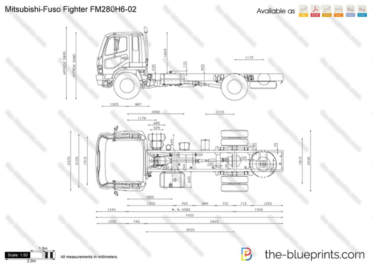 Mitsubishi-Fuso Fighter FM280H6-02