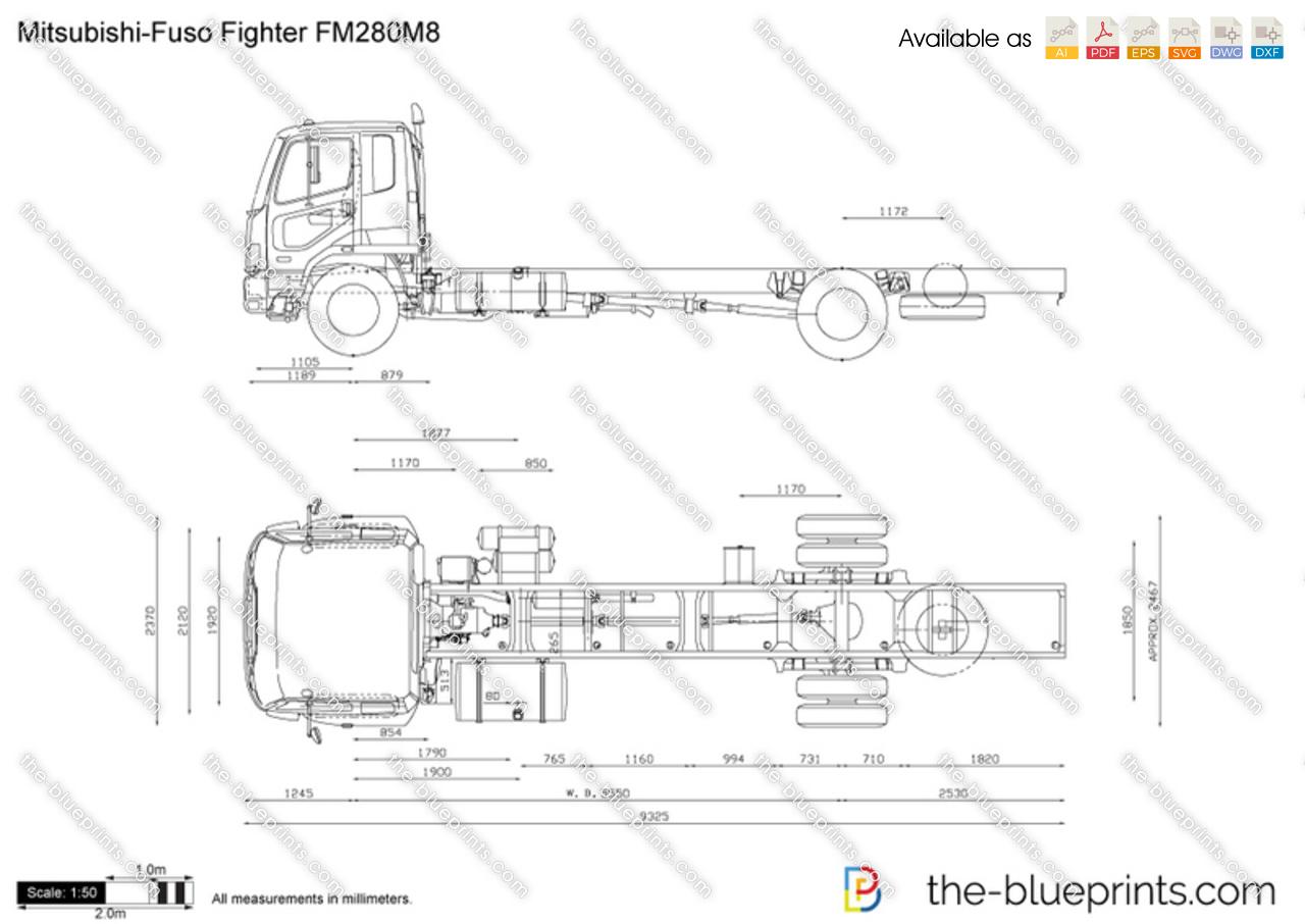 Mitsubishi-Fuso Fighter FM280M8