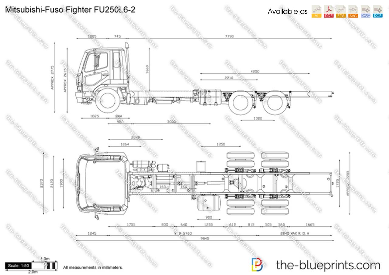 Mitsubishi-Fuso Fighter FU250L6-2