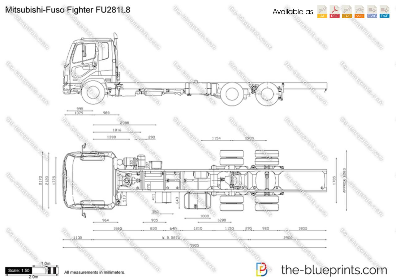 Mitsubishi-Fuso Fighter FU281L8