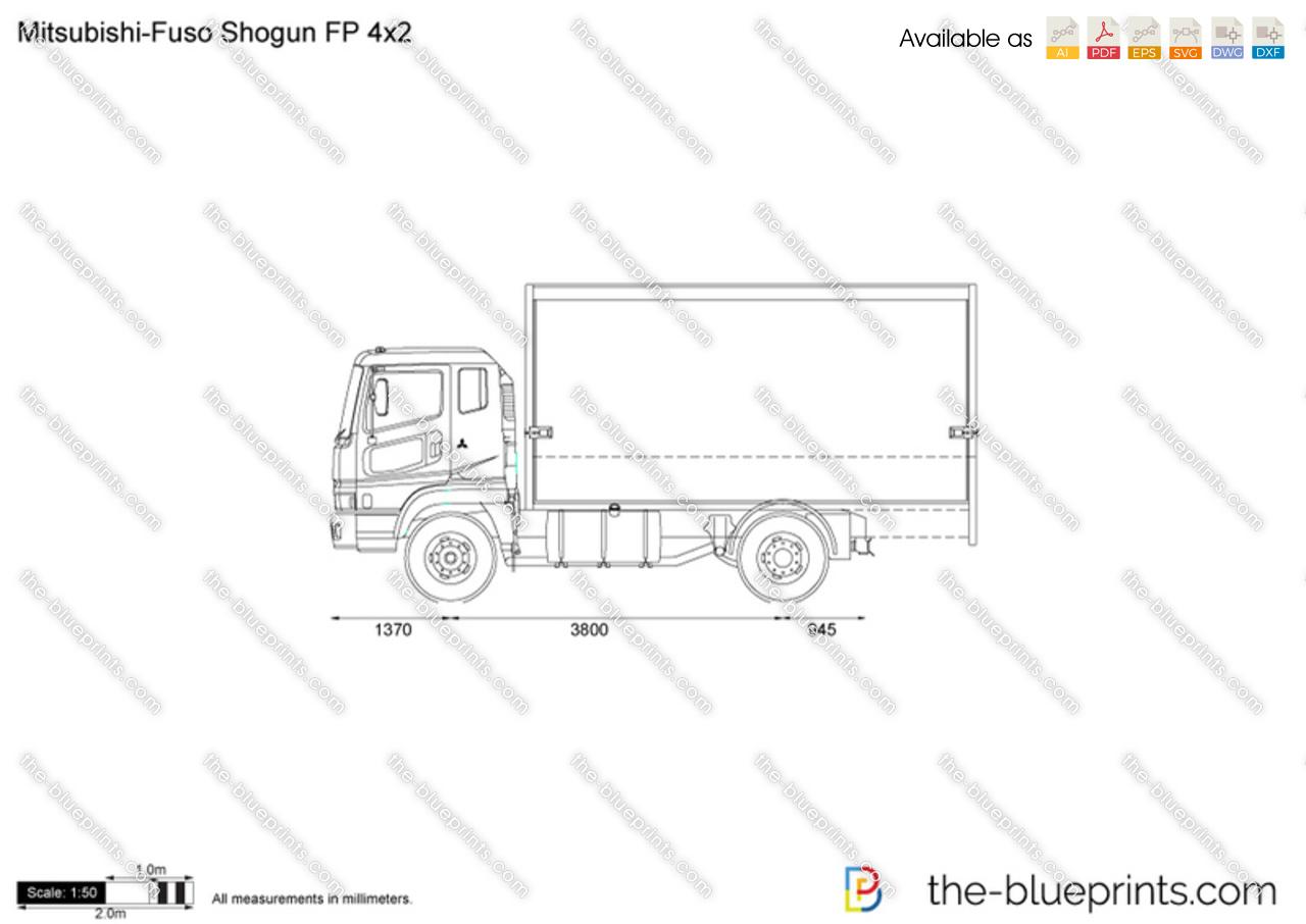 Mitsubishi-Fuso Shogun FP 4x2