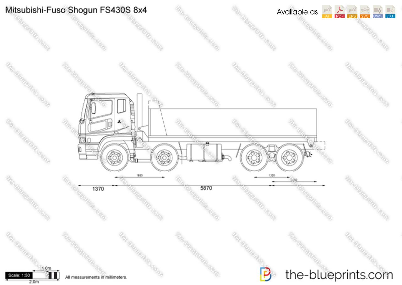 Mitsubishi-Fuso Shogun FS430S 8x4