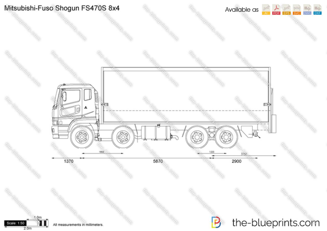 Mitsubishi-Fuso Shogun FS470S 8x4