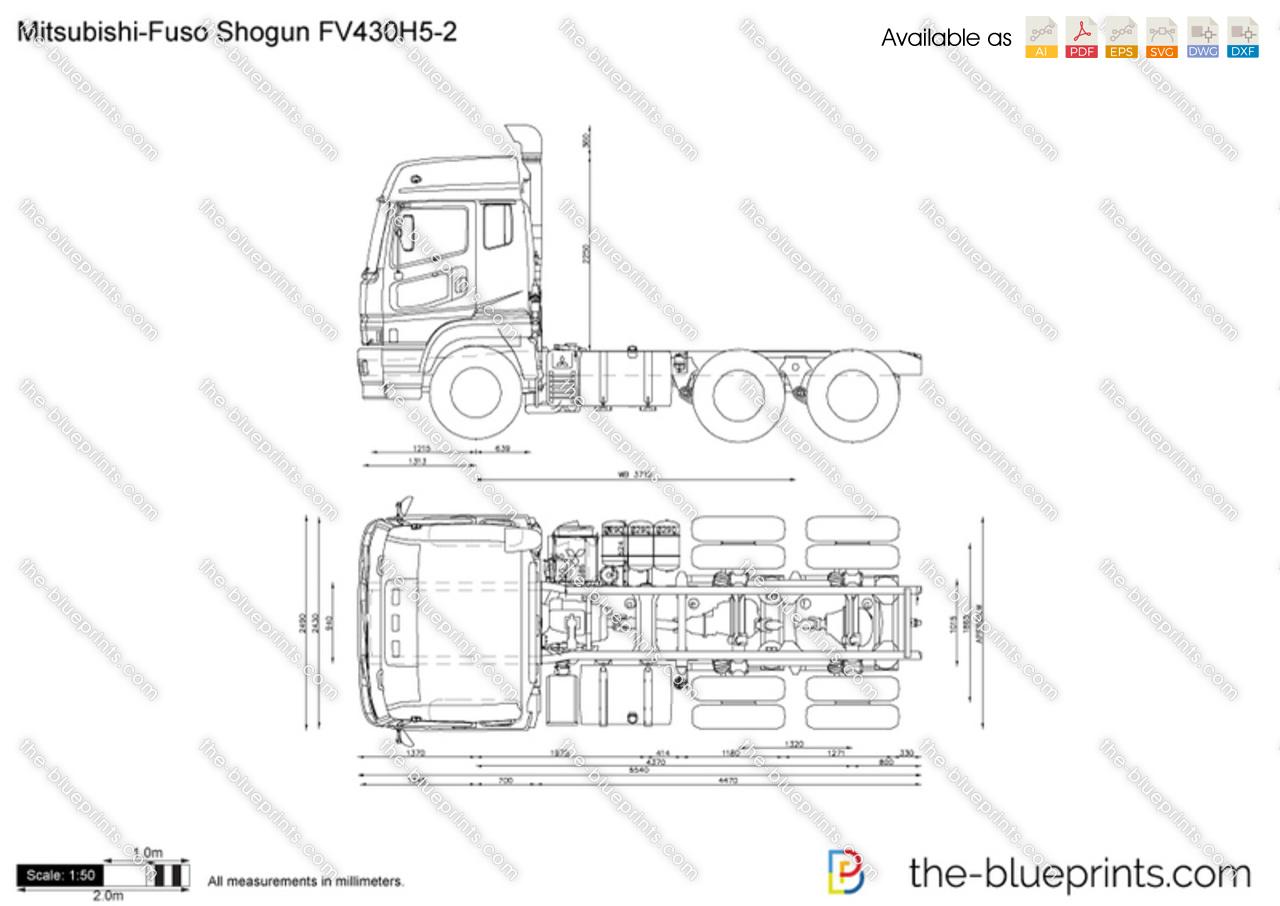 Mitsubishi-Fuso Shogun FV430H5-2