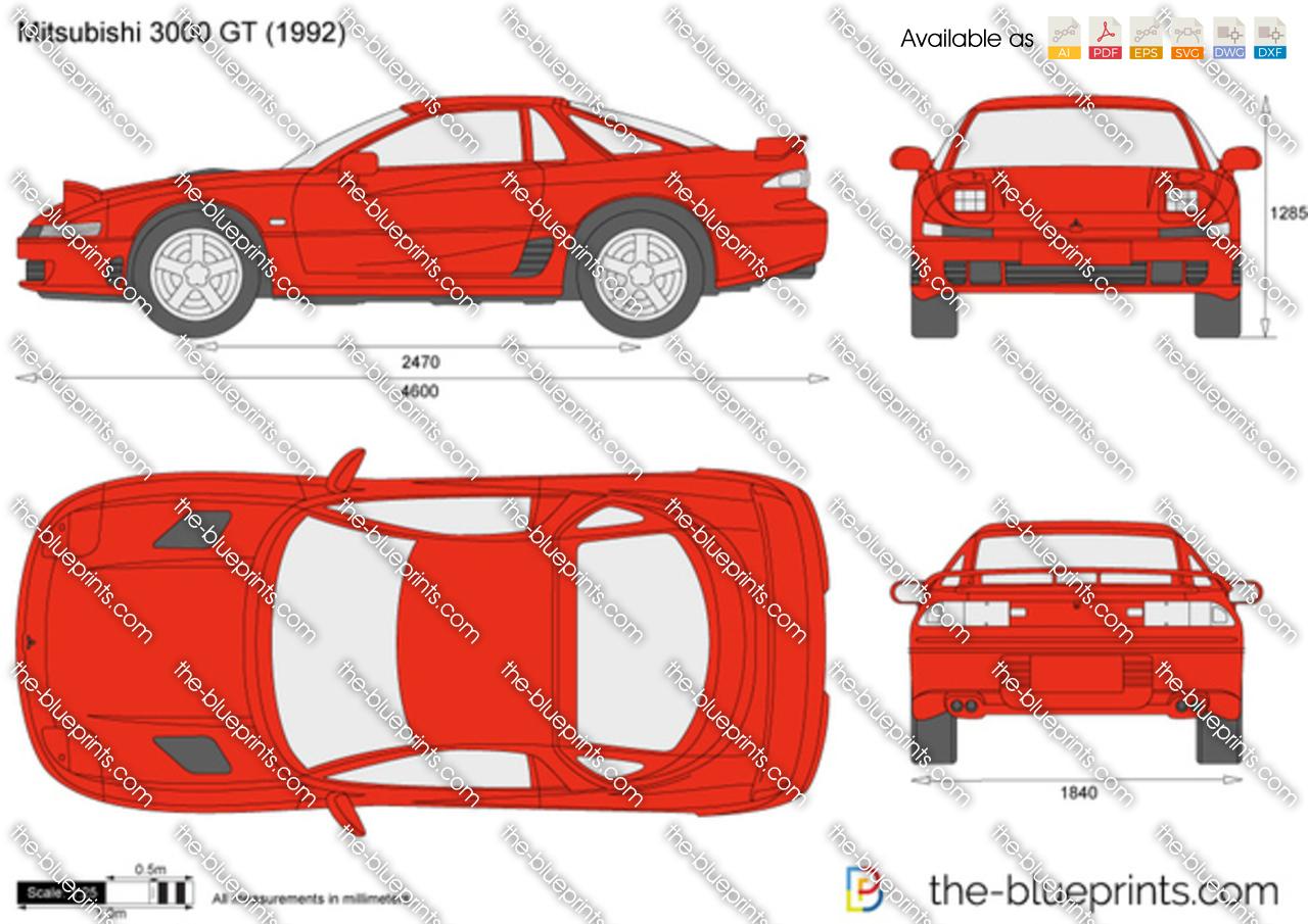 Mitsubishi 3000 GT 1996