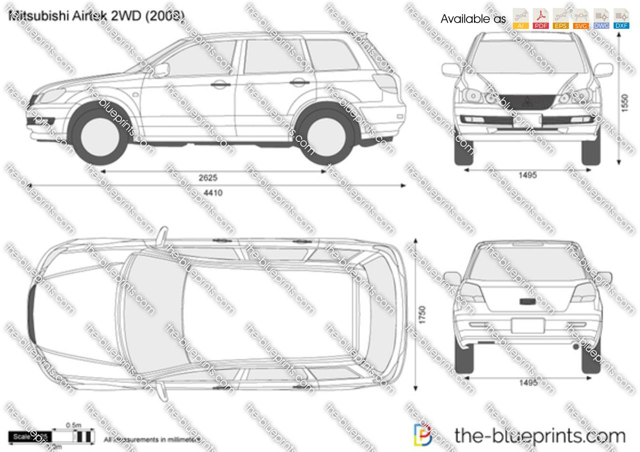 Mitsubishi Airtrek 2WD 2001