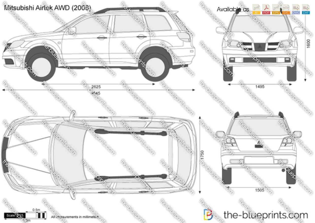 Mitsubishi Airtrek AWD 2004