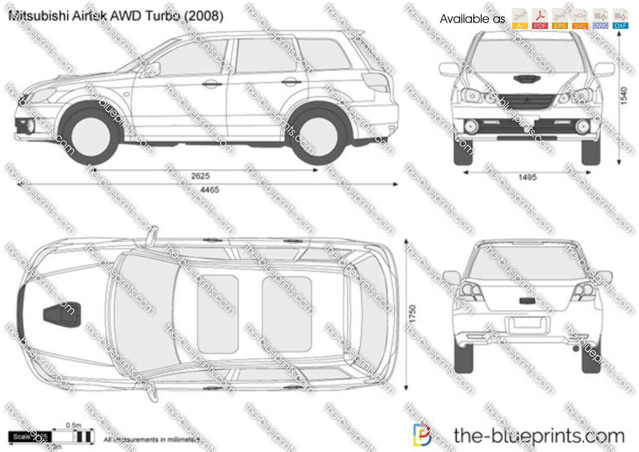 Mitsubishi Airtrek AWD Turbo 2004