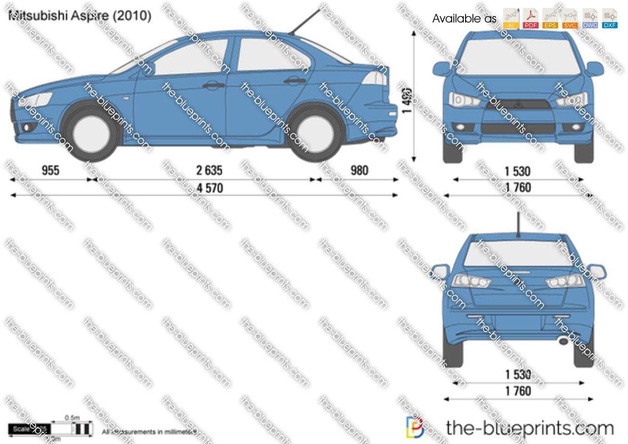 Mitsubishi Aspire 2011