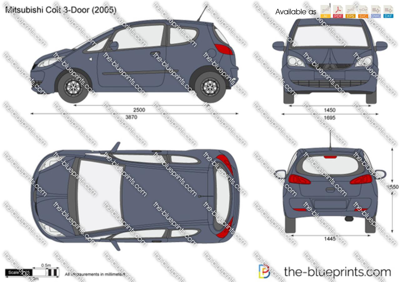 Mitsubishi Colt 3-Door 2007