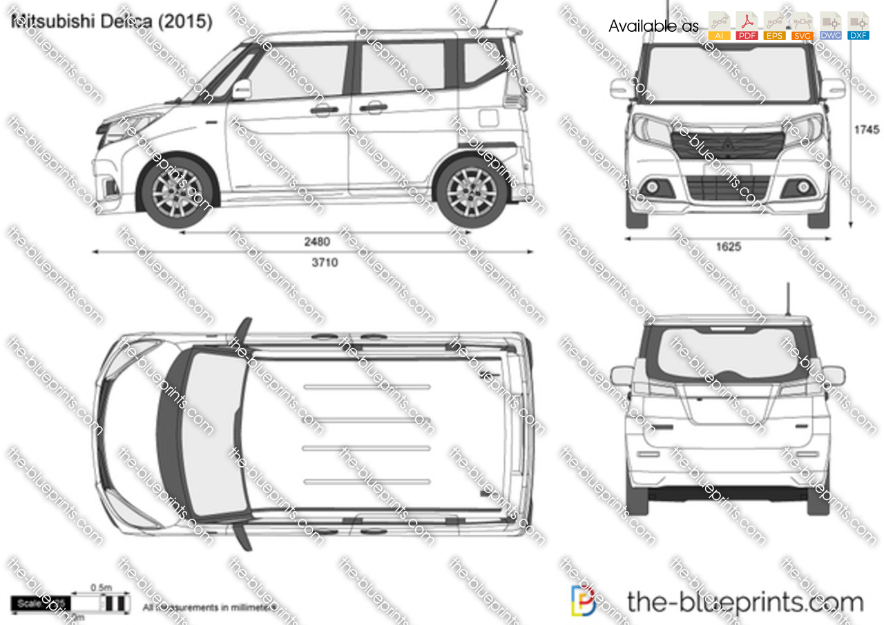Mitsubishi Delica 2017