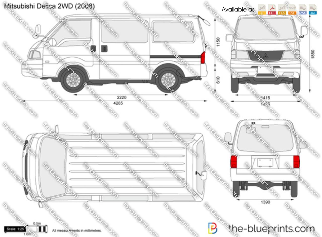 Mitsubishi Delica 2WD 2000