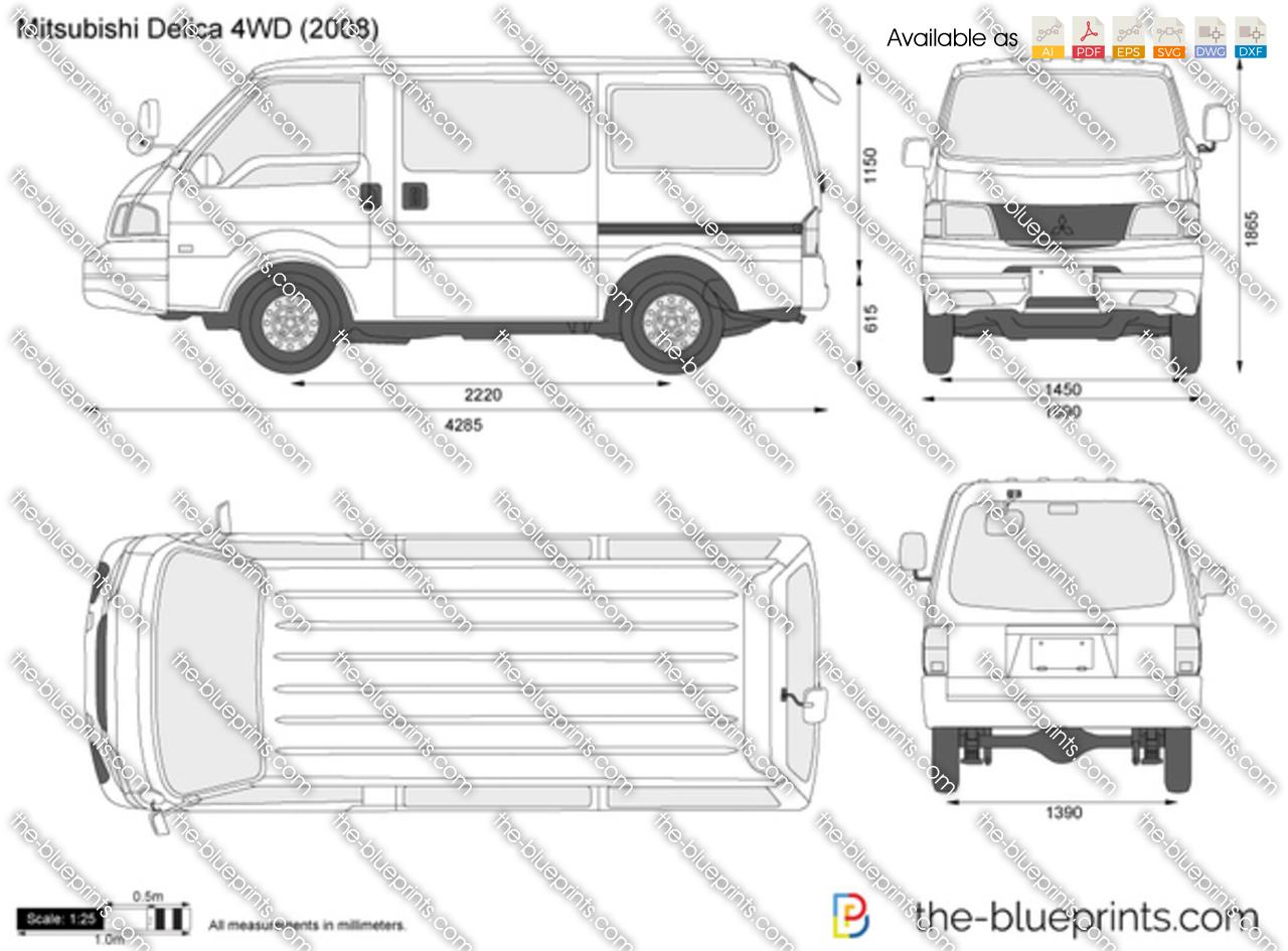 Mitsubishi Delica 4WD 1990