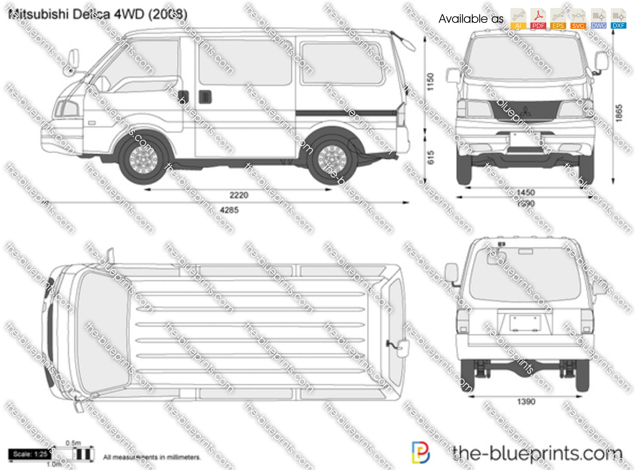 Mitsubishi Delica 4WD 1997