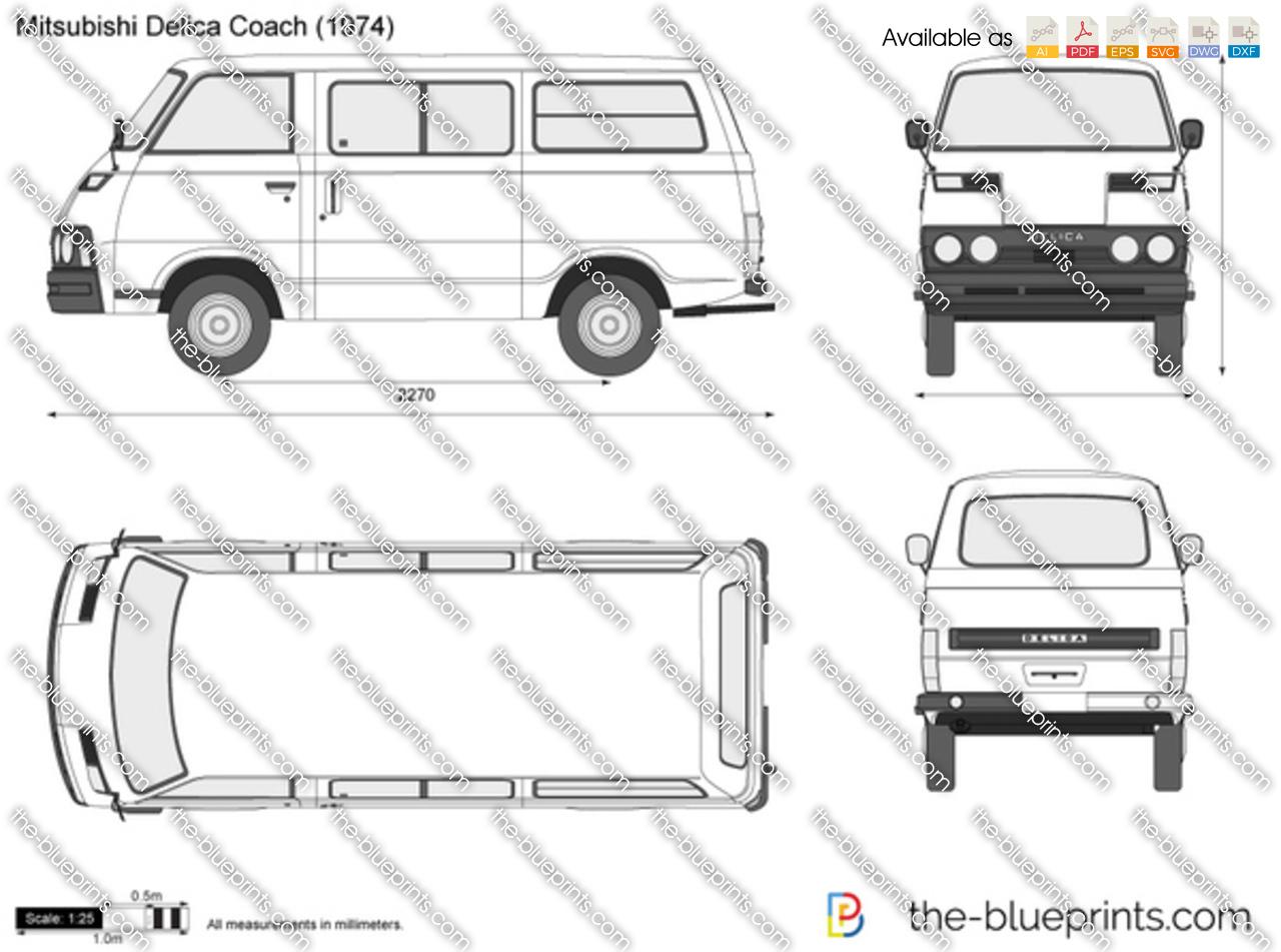 Mitsubishi Delica Coach