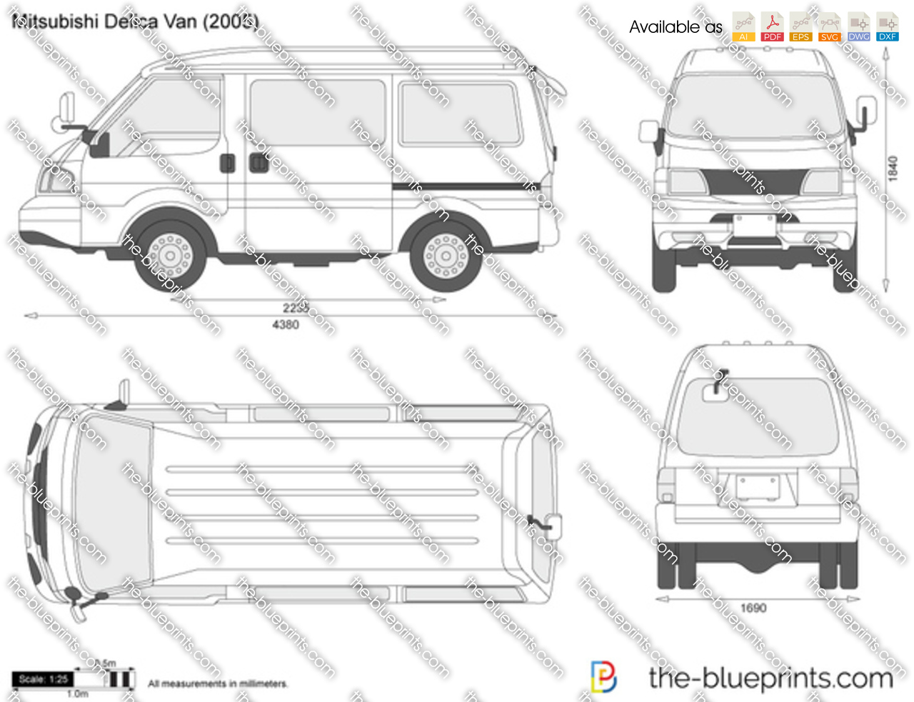 Mitsubishi Delica Van 1993