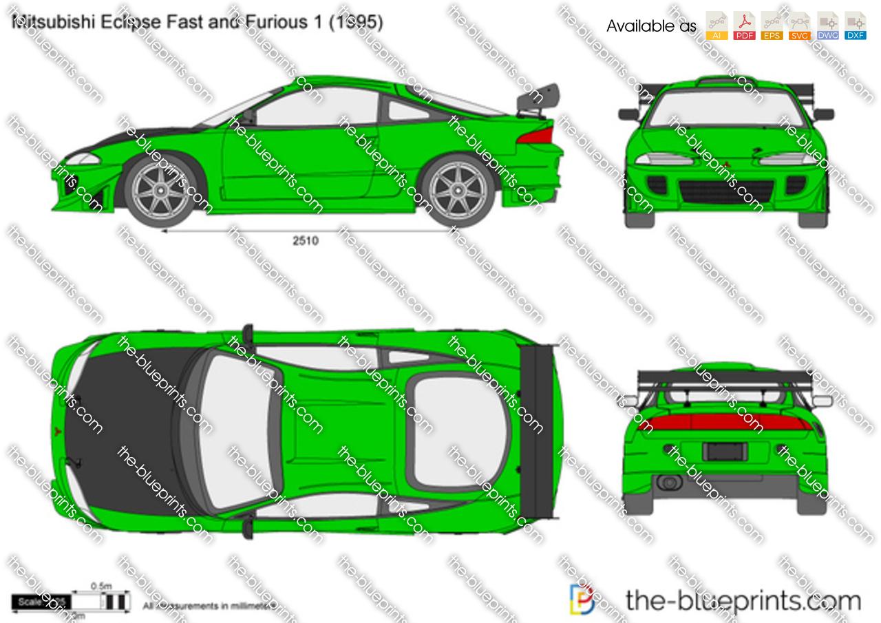 Mitsubishi Eclipse Fast and Furious 1