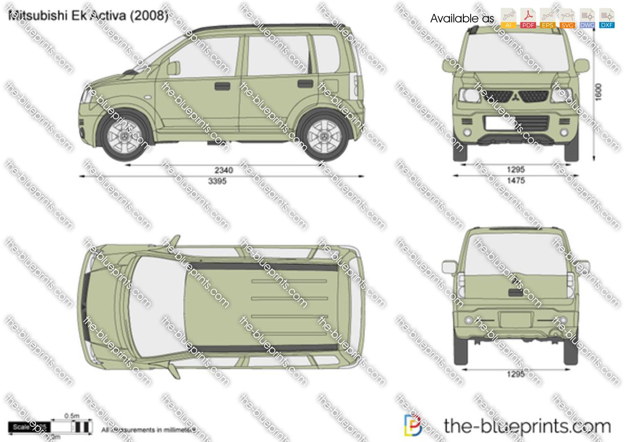 Mitsubishi eK Activa 2001