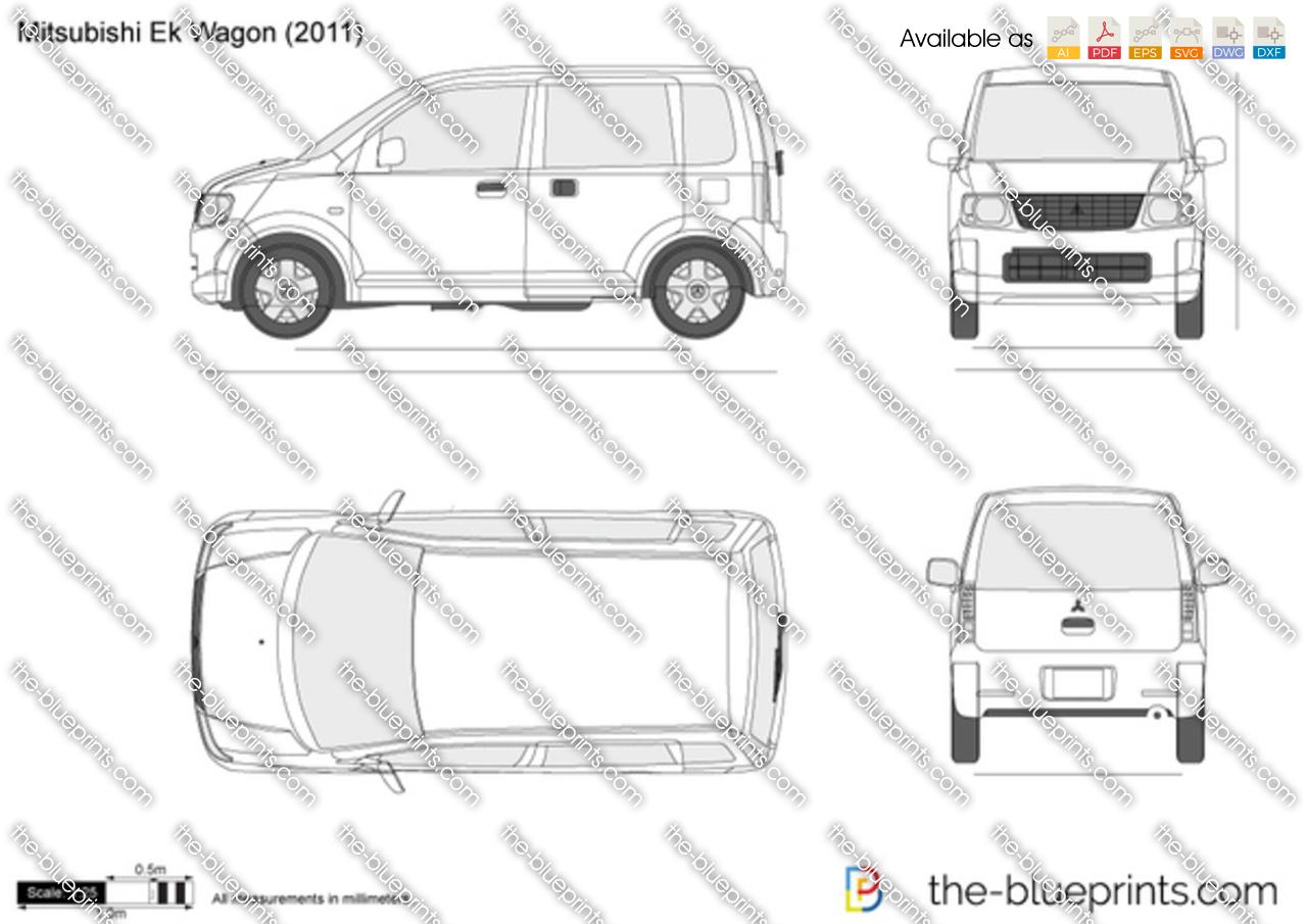 Mitsubishi eK Wagon 2005