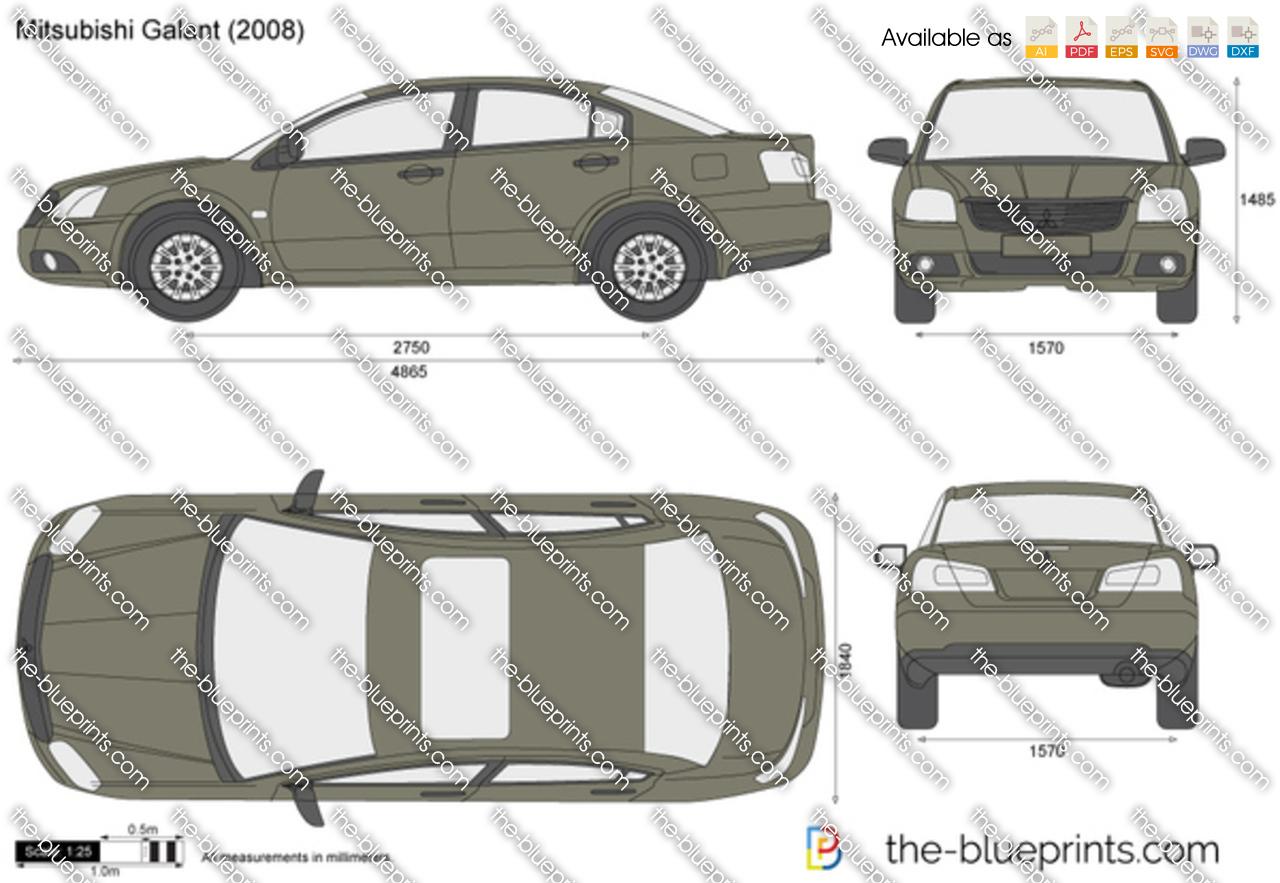 Mitsubishi Galant 2004