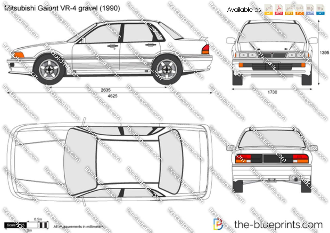 Mitsubishi Galant VR-4 gravel