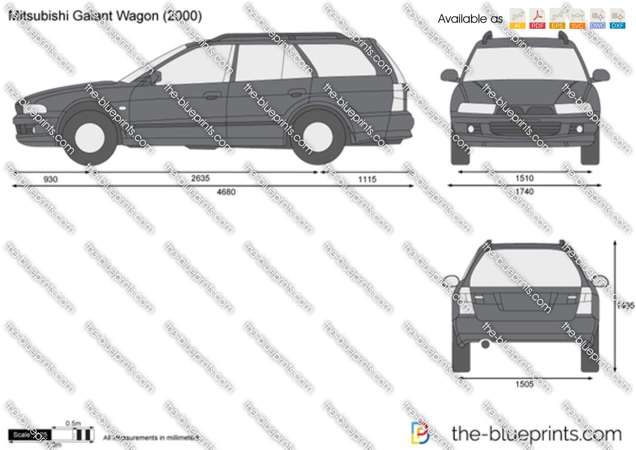 Mitsubishi Galant Wagon 1996