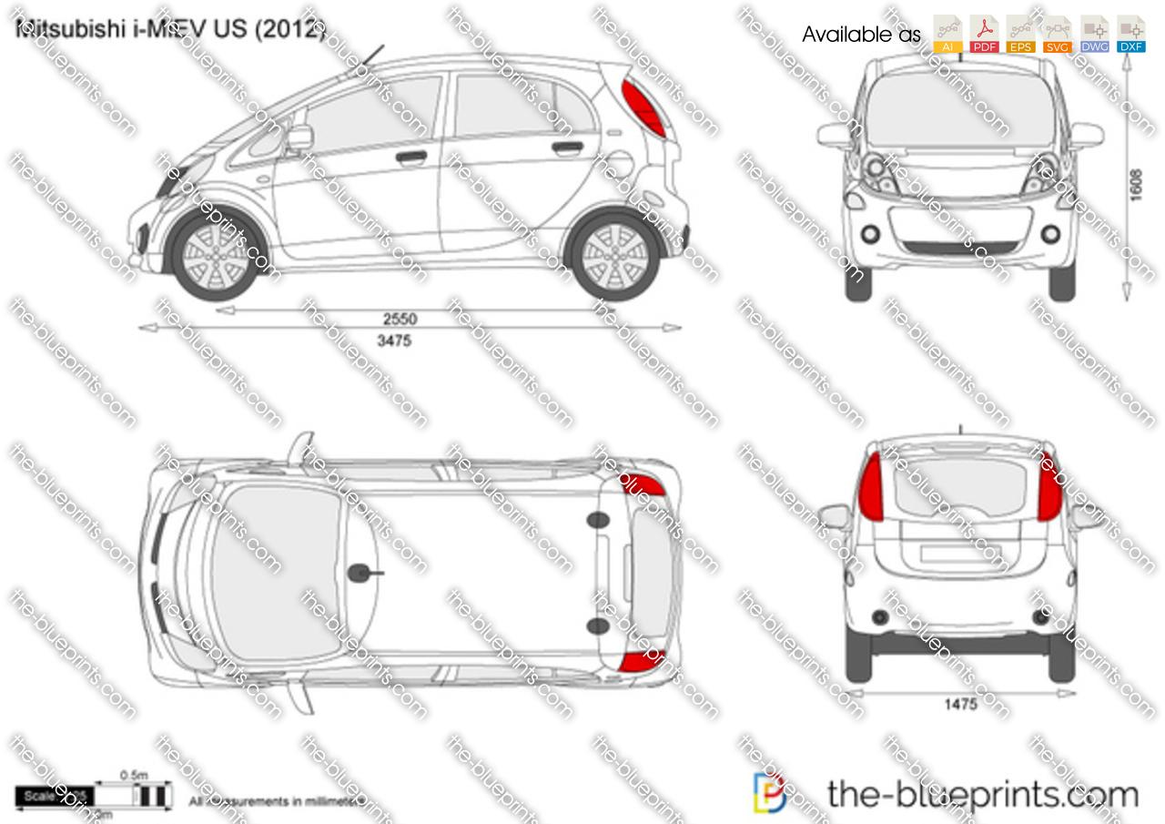 Mitsubishi i-MiEV US 2013