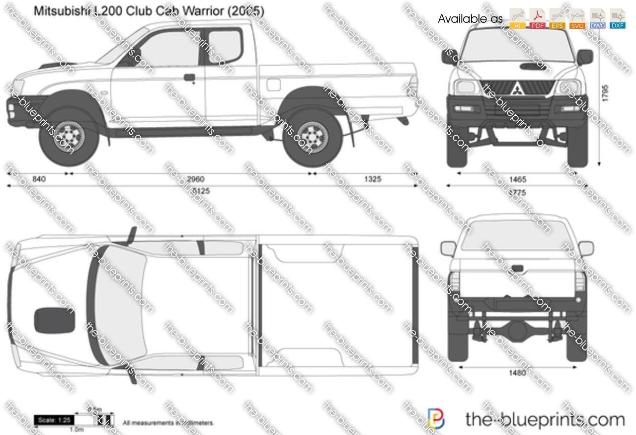 Mitsubishi L200 Club Cab Warrior 2007