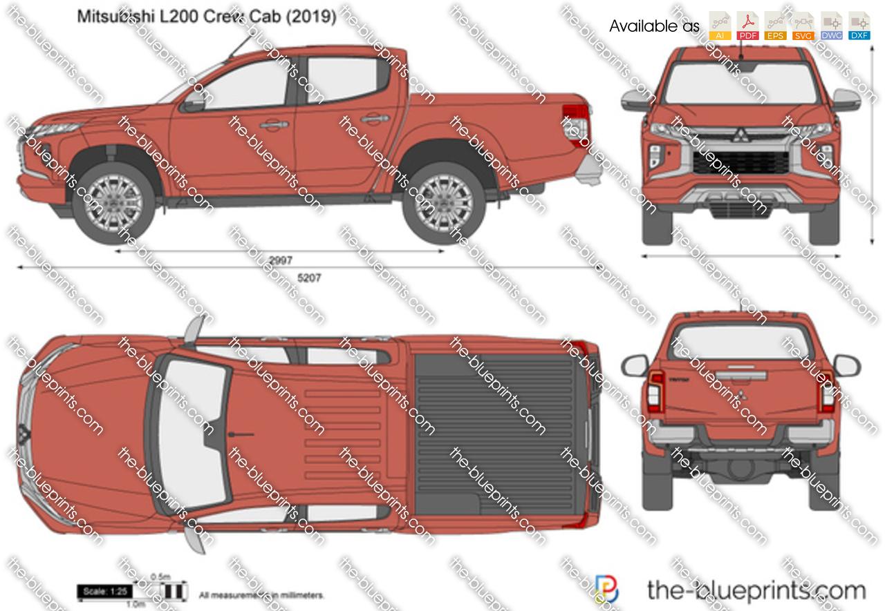 Mitsubishi L200 Crew Cab