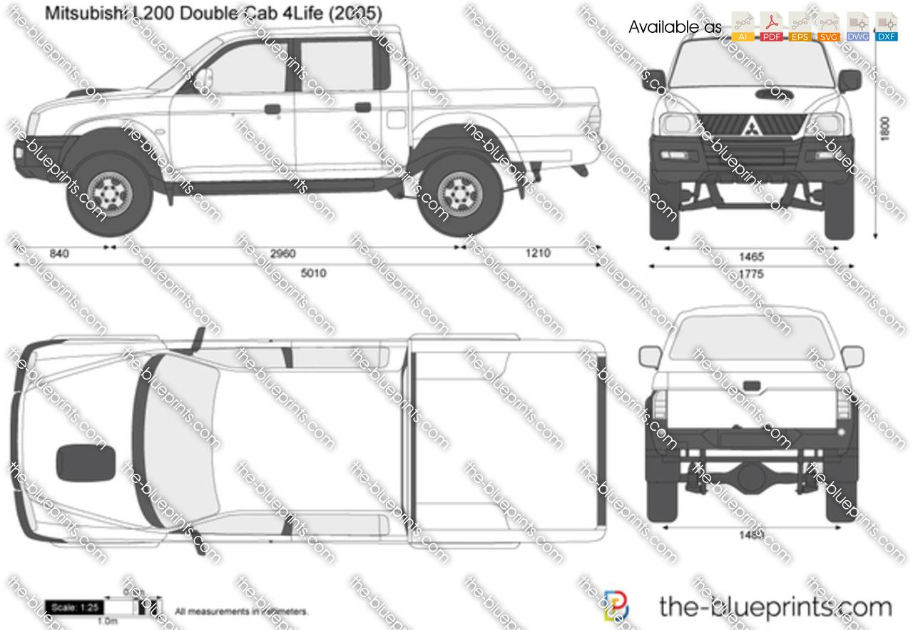 Mitsubishi L200 Double Cab 4Life 2004