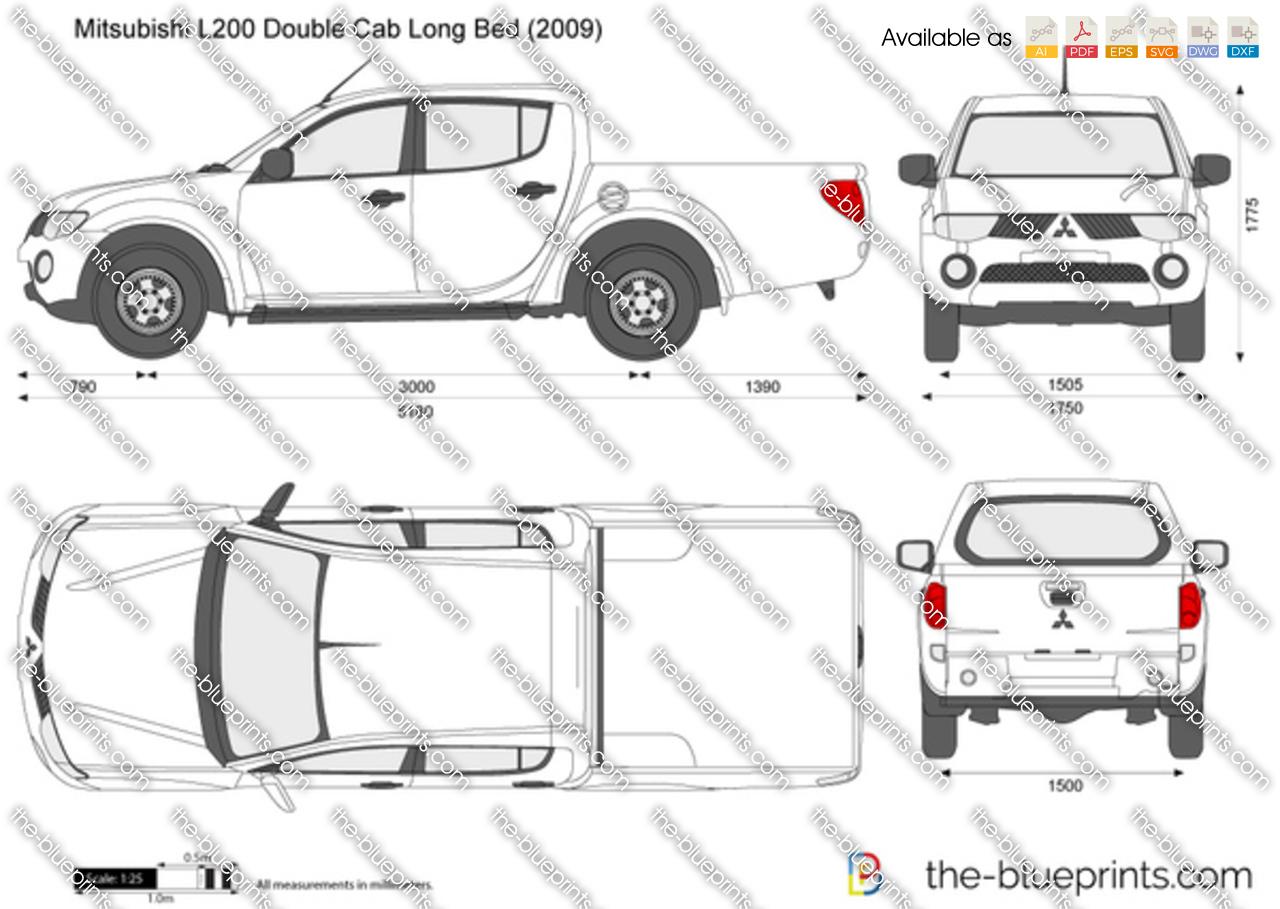 Mitsubishi L200 Double Cab Long Bed 2012