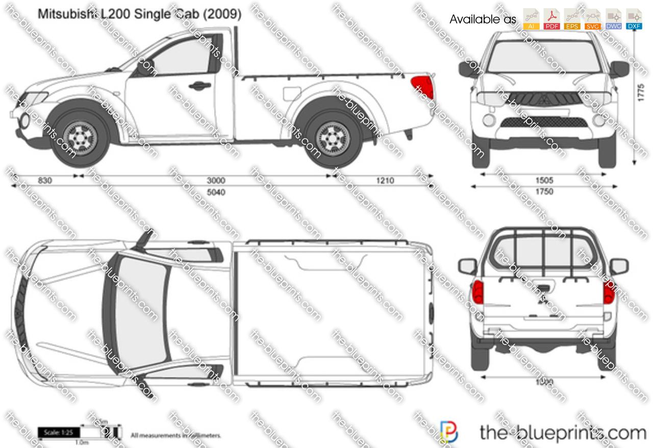 Mitsubishi L200 Single Cab 2012