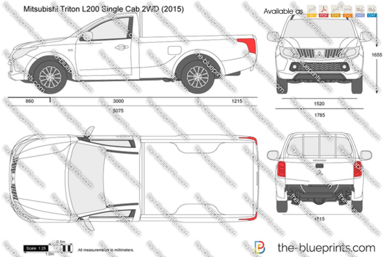 Mitsubishi L200 Single Cab 2WD 2018
