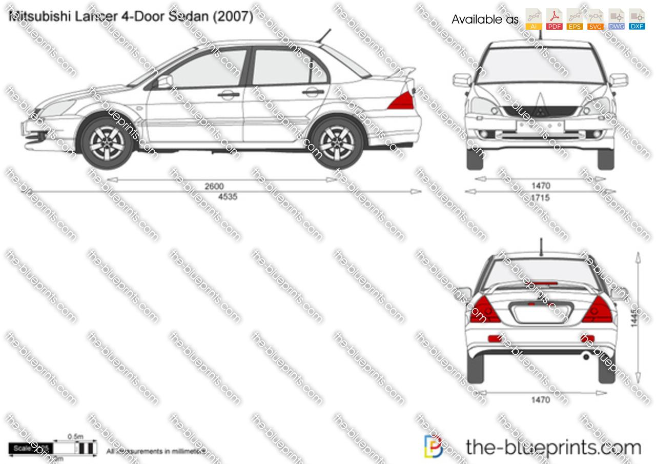 Mitsubishi Lancer 4-Door Sedan 2000